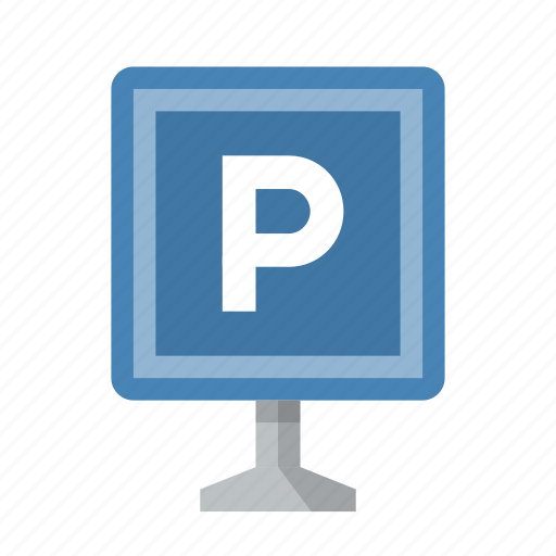 park, parking, sign icon