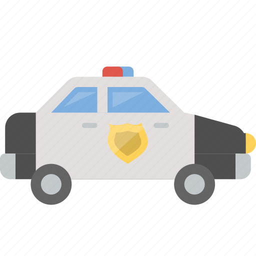 car, cop, officer, patrol, police, safety, vehicle icon