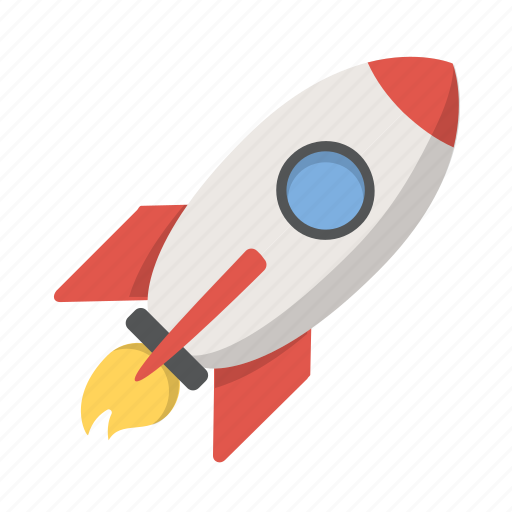 development, launch, rocket, rocketship, shuttle, space, spaceship icon