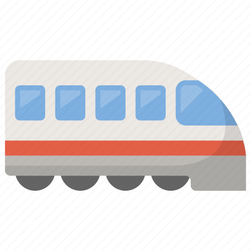 public, railway, subway, train, transportation icon
