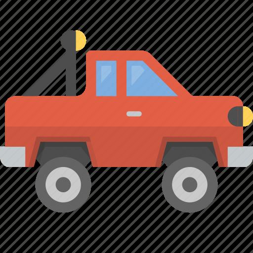 hillbilly, monster, off road, oversized, pickup, truck icon