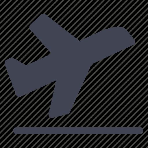 aeroplane, air, airplane, departure, essentials, travel icon