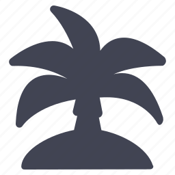 essentials, island, palm, travel, tree, tropical icon