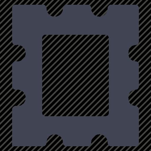 essentials, mail, post, postage, stamp, travel icon