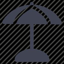 essentials, parasol, shade, travel, umbrella icon