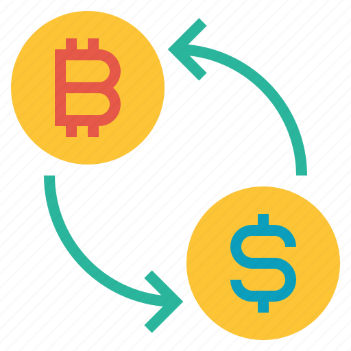 bitcoin, coin, currency, dollar, exchange, finance, money icon