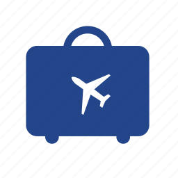 bag, baggage, booking, flight, luggage, travel, trip icon