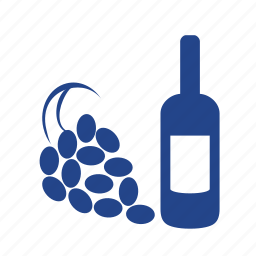 bottle, degustation, drink, grapes, restorant, tasting, wine icon