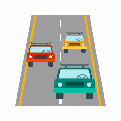 city, freeway, highway, road, speed, traffic, travel icon
