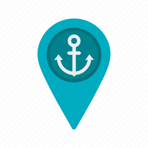 cargo, freight, location, point, ship, shipping, travel icon
