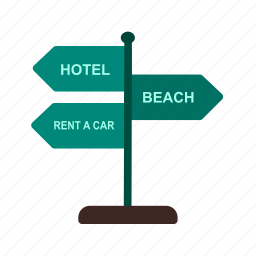 journey, plate, road, sign, signboard, travel, trip icon