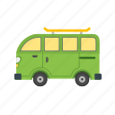 family, road, transportation, travel, trip, van, vehicle icon