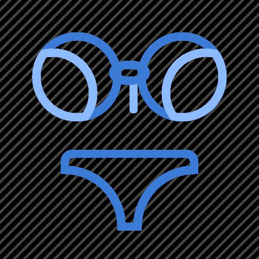 bikini, sexy, summer icon