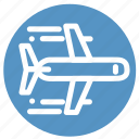 airplane, flight, plane, tourism, transportation, travel icon