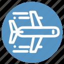 airplane, flight, plane, tourism, transportation, travel