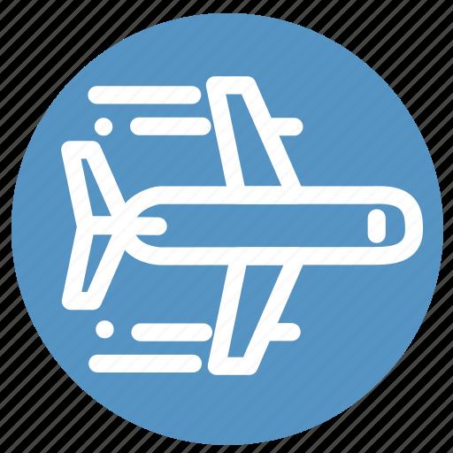 airplane, flight, plane, tourism, transportation, travel icon