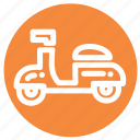 delivery, motorbike, motorcycle, scooter, transport, transportation icon