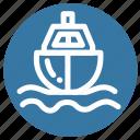 boat, sea, ship, tourism, transport, travel