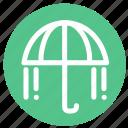 forecast, rain, umberella, umbrella, water, weather