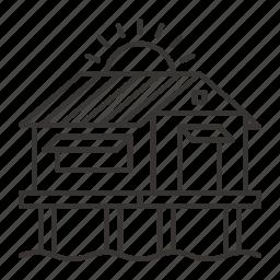 bungalow, cottage, home, house, villa icon