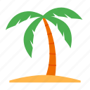 beach, summer, sun, travel, vacation icon