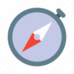 compass, direction, location, navigation, tool, travel icon