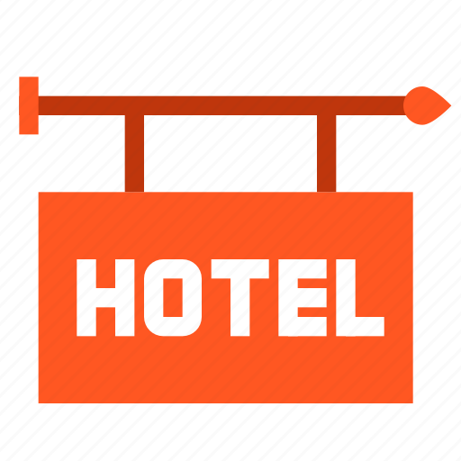 hotel, tourism, travel, vacation icon