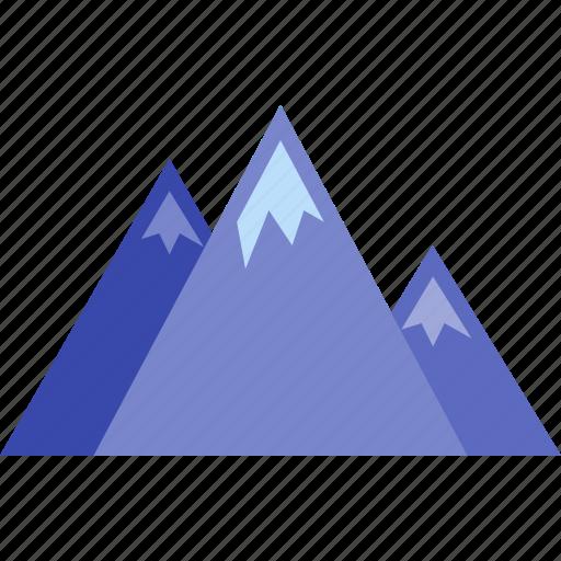 landscape, mountain, mountains, nature, tourism icon