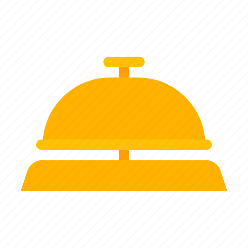 bell, hotel, lobby, service, support icon