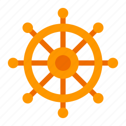 boat, cruise, sea, ship, transport, wheel icon