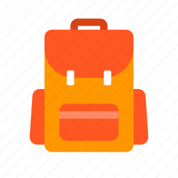 backpack, bag, transportation, travel, vacation icon
