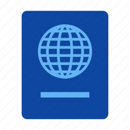 passport, tourism, travel, vacation icon