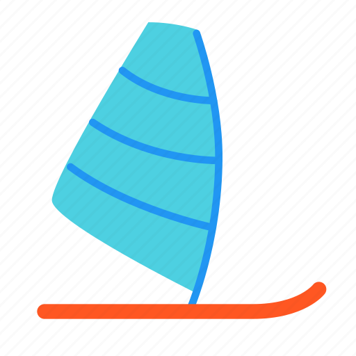 board, sea, sport, water, windsurf, windsurfing icon