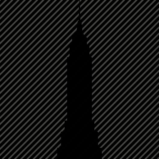 building, empire, landmark, new, skyscraper, state, york icon