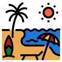 hot, nature, summer, sun, sunny icon