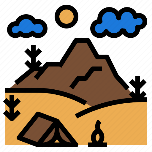 adventure, camping, travel, trip, vacation icon