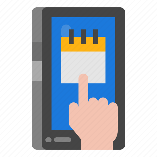 Booking, concept, mobile, online, phone icon - Download on Iconfinder