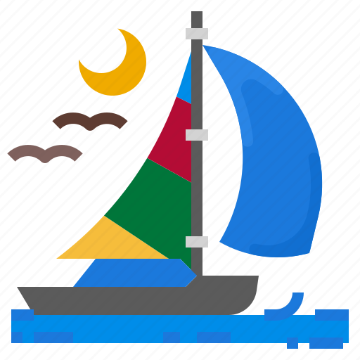 Boat, journey, sea, ship, travel icon - Download on Iconfinder