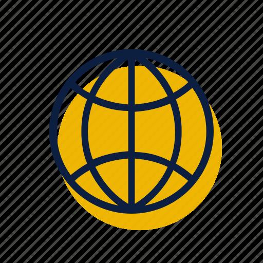 globe, travel, world icon