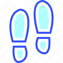 adventure, footstep, holiday, leisure, transportation, travel icon
