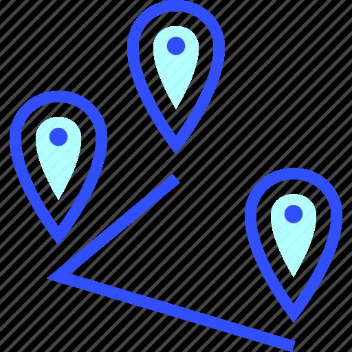 adventure, destinations, holiday, leisure, multiple, transportation, travel icon