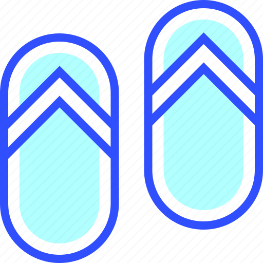 adventure, holiday, leisure, sandals, transportation, travel icon