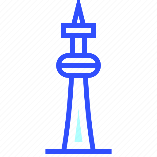 adventure, cn, landmark, leisure, tower, transportation, travel icon