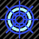 wheel, transportation, travel, leisure, adventure, ship, steering icon