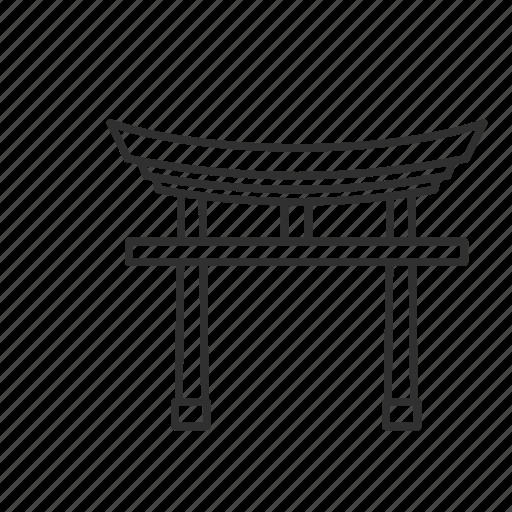 emoji, pray, sacred, sacred place, shinto, shinto shrine, shrine icon