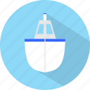 ship, travel, vacation icon