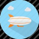 travel, vacation, zeppelin