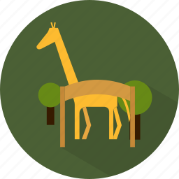 travel, vacation, zoo icon