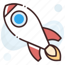 missile, rocket, rocket launch, spacecraft, spaceship