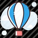 air balloon, air travel, hot air balloon, parachute balloon, skydiving